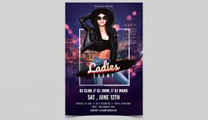 flyer for an event ladies event free psd flyer template studioflyers com