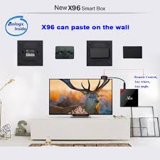 X96 Android 7.1.2 S905W 1GB/8GB Bluetooth TV Box
