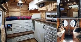 40 Best Sprinter Van Conversion Interiors Home Design Garden Gorgeous Van Interior Design Interior