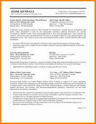 9 Government Resume Format Resume Type
