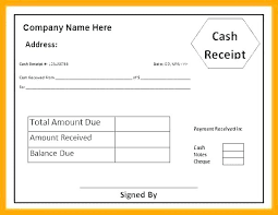 Receipt Template Doc Check Receipt Template Word Ms Invoice Doc From New Cash