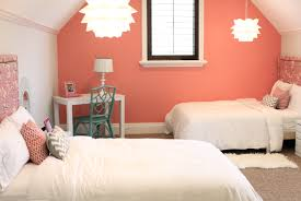 coral paint colorCoral Paint Colors  Contemporary  girls room  Benjamin Moore