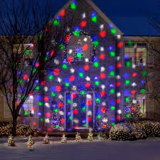 Outdoor Led Christmas Projection Lights Points Of Light With 122 Effects And Remote Gemmy