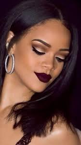 lace dress burgundy makeup