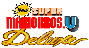 New Super Mario Bros. U Deluxe logo but each word is from the first ...