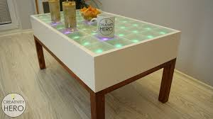 diy interactive led coffee table 34