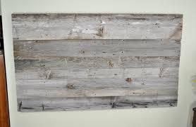 Diy Headboard Reclaimed Wood Headboard Diy Installation Made From Real Barn
