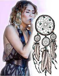 Miley Cyrus Dream Catcher miley cyrus dream catcher tattoo Google Search 2
