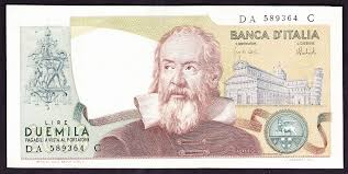 galileo paper money