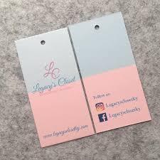 300 Custom Hang Tags Swing Tags Clothing Hang Tag Price Tags Hang Tags Black Cardstock Paper Paper Tickets Custom Hangtags