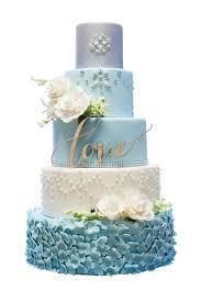 wedding cake. blue and white cake wedding