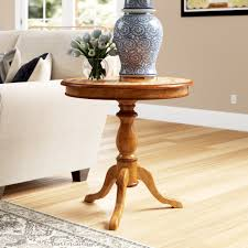 Distressed Finish White End & Side Tables You'll Love in ...