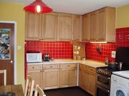 Orange And Yellow Kitchen Yellow Kitchen Red Accents Cliff Kitchen