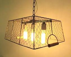 how to make a en wire light shade original vintage inspired chandelier with bulbs