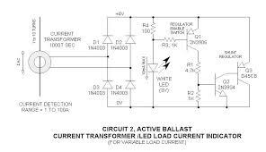 current transformer ac load indicator led