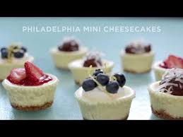 mini cheesecakes recipe philadelphia