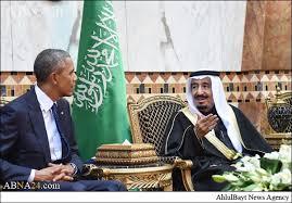 Image result for اوباما و سلمان پادشاه سعودی