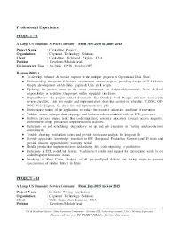 Informatica Etl Developer Sample Resume Developer Resume Resume