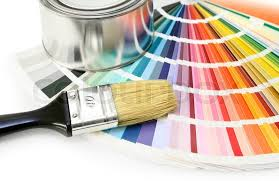 Paint Color Chart Sample Swatches Stock Image Colourbox