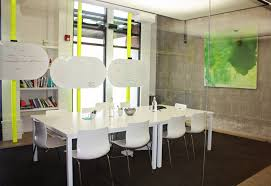 contemporary office cool office decorating ideas. Office : Modern Room Decoration With Grey And Orange Color Image Contemporary Cool Decorating Ideas