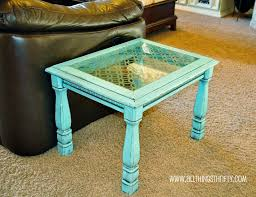 End Table Paint Ideas Cool Coffee Table Refinish Ideas