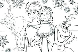 Frozen Disney Coloring Pages Frozen Coloring Pages Printable