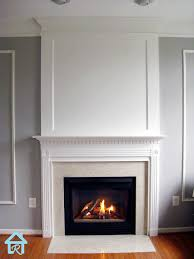 fireplace heightened to the ceiling