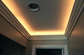 crown molding lighting ideas. Modren Ideas Indirect Ceiling Lighting Crown Molding Narrow Tray Illuminated With Rope  And Designed X Sus To Ideas E