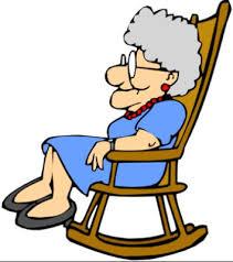 rocking chair clipart. grandma clipart rocking chair
