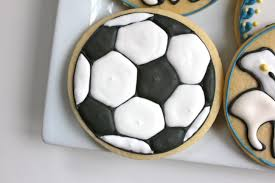 Soccer Ball Icing Decorations soccer ball cookies paddle attachment 13