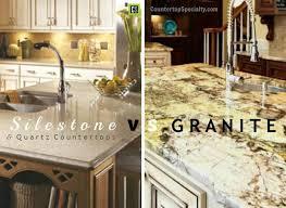Awesome Silestone Vs Granite Vs Quartz Countertop Materials Comparison Side By Side