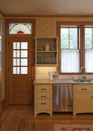 boston stained glass door kitchen victorian with custom china cabinets and hutches wood floor