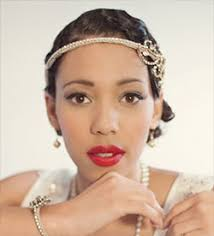 accessory 1920s inspired hairstyle