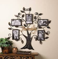 on metal wall art picture frames with zingz thingz family tree picture frame walmart