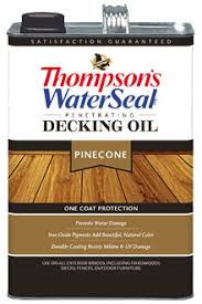 thompsons timber oil.  Thompsons Thompsonu0027s WaterSeal Penetrating Decking Oil On Thompsons Timber 1