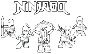 Ninjago Color Color Pages 9 Lego Ninjago Movie Coloring Book