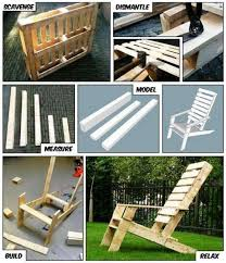 outdoor pallet furniture ideas. 20+ DIY Outdoor Pallet Furniture Ideas And Tutorials-Adirondack Chair From One L