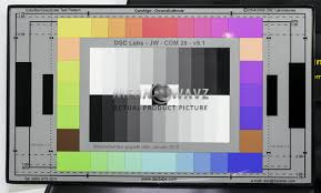Dsc Labs Camalign Colorbar Grayscale Test Pattern Chart