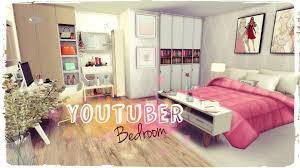 Sims Bedroom Sims 4 Youtuber Bedroom Build Decoration Youtube