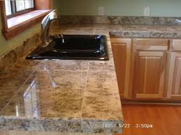 best tile for countertop kitchen ideas 2018 including fabulous diy edge pros cons trim bathroom paint wood picture elegant can you use marble schon tiled
