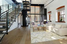 Renovation Warehouse Warehouse Penthouse Loft Blends Modern New York With Old Time