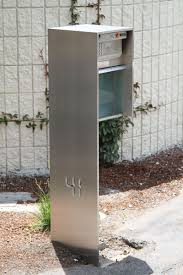 Modern Mailbox Designs Exterior Awesome Modern Mailboxes Designs Incredible