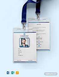 company id card templates 294 free id card templates download ready made samples template net