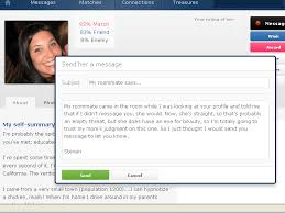 online dating site message examples