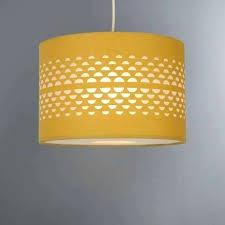 yellow lamp shades ochre cut out shade regarding yellow lamp ideas yellow lamp shades for nursery