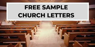 Free Church Letters And Church Welcomes Churchletters Org