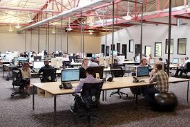 open layout office. Open Layout Office P