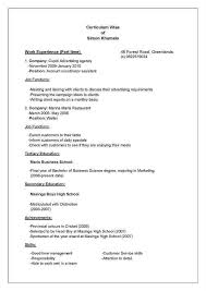 how to write up a resume. How To Type Up Resume Complete Guide Example