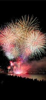 Fireworks at Blanes iPhone X Wallpapers ...