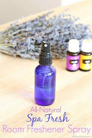 diy spa fresh room air freshener spray